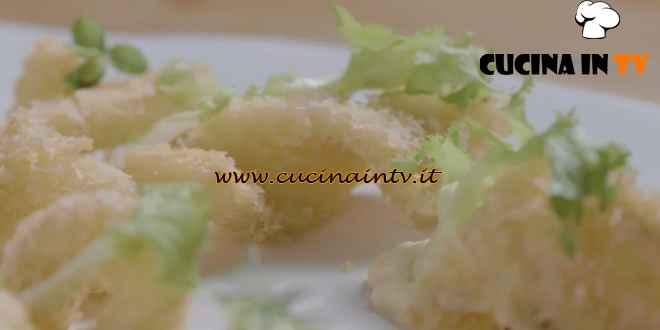 I menù di Cannavacciuolo - ricetta Fritto di pesce bandiera con maionese di soia di Antonino Cannavacciuolo