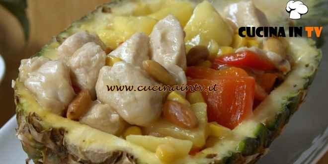 Fatto in casa per voi - ricetta Insalata di pollo all'ananas di Benedetta Rossi
