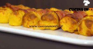 Giovani nonne - ricetta Involtini di patate e speck di Vittoria