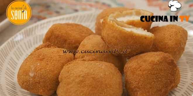 La cucina di Sonia - ricetta Mozzarelline fritte di Sonia Peronaci