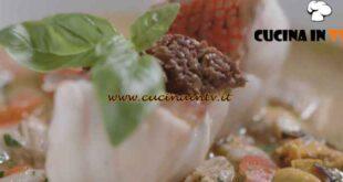 I menù di Cannavacciuolo - ricetta Scorfano in guazzetto di frutti di mare di Antonino Cannavacciuolo