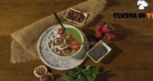 Gusto sano in cucina - ricetta Smoothie bowl di Morgan