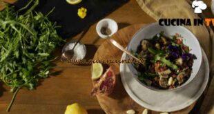 Gusto sano in cucina - ricetta Insalata di riso rosso ai funghi di Morgan