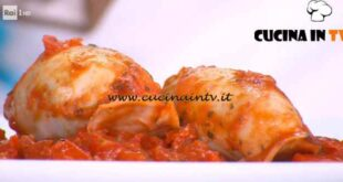 È sempre mezzogiorno - ricetta Calamari ripieni di Michele Farru