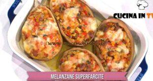 È sempre mezzogiorno - ricetta Melanzane superfarcite di Daniele Persegani
