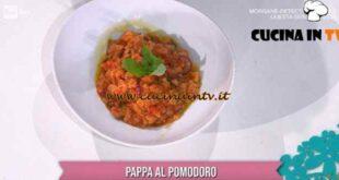È sempre mezzogiorno - ricetta Pappa al pomodoro di Federico Fusca