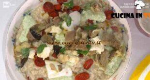È sempre mezzogiorno - ricetta Risotto alla parmigiana di melanzane di Sergio Barzetti