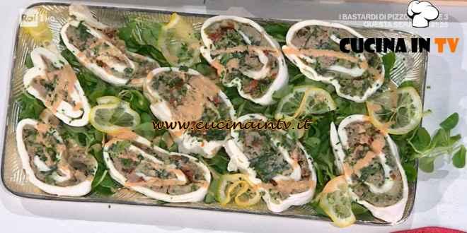 È sempre mezzogiorno - ricetta Rotolo di mozzarella ripiena di Simone Buzzi