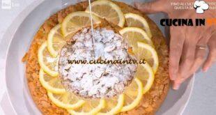 È sempre mezzogiorno - ricetta Torta sole d'Ischia di Natalia Cattelani