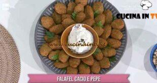 È sempre mezzogiorno - ricetta Falafel cacio e pepe di gemelli Billi