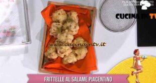 È sempre mezzogiorno - ricetta Frittelle al salame piacentino di zia Cri