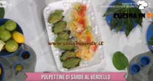 È sempre mezzogiorno - ricetta Polpettine di sarde al verdello di Fabio Potenzano