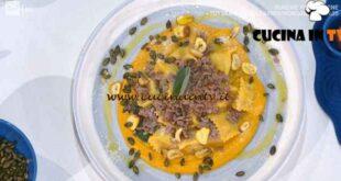 È sempre mezzogiorno - ricetta Ravioli alle castagne di Gian Piero Fava