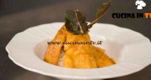 L'Italia a morsi al ristorante - ricetta Riso in cagnone con persico fritto di Simone Rugiati