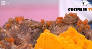 È sempre mezzogiorno - ricetta Stinco di maiale con purea di zucca di Daniele Persegani