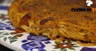 Giovani nonne - ricetta Frittata di spaghetti e tonno di Vittoria